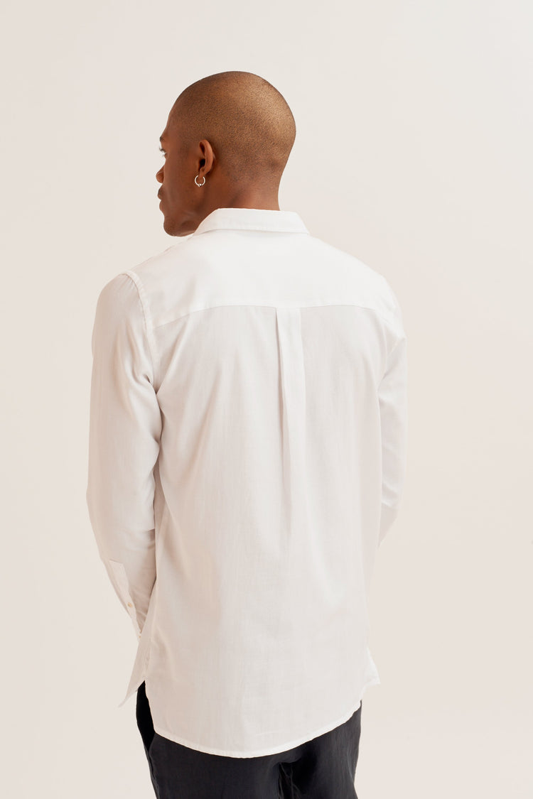 On-Set Shirt White