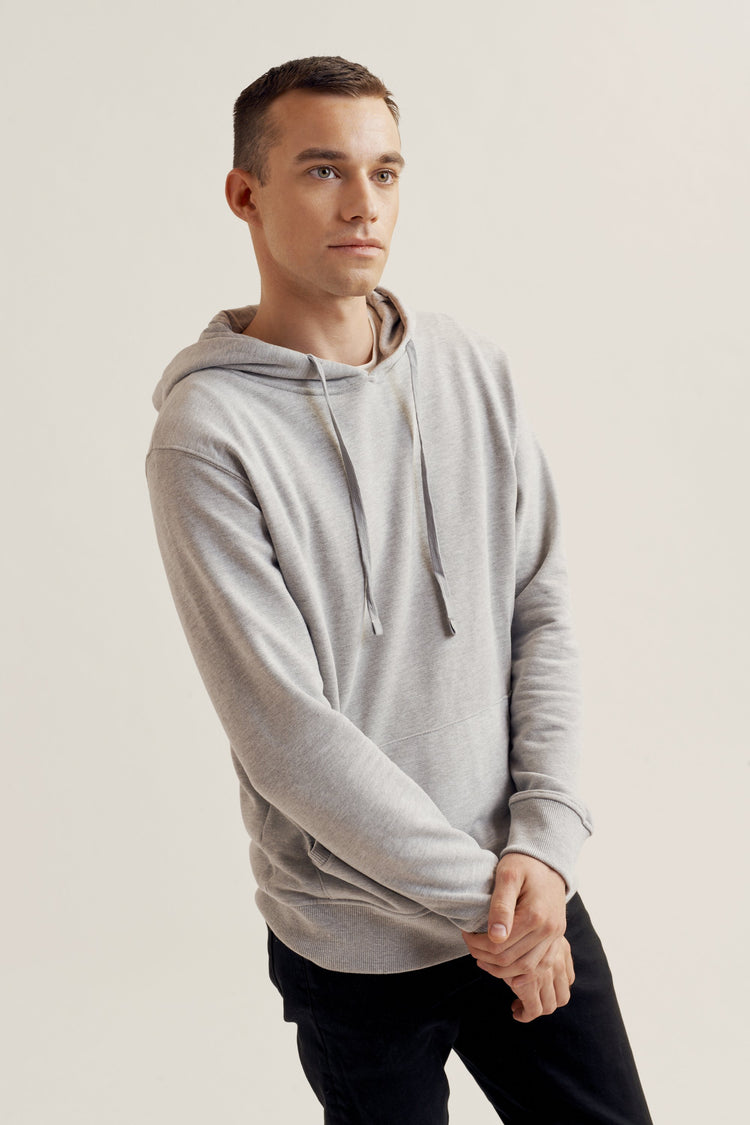 Hoodie Heather Grey
