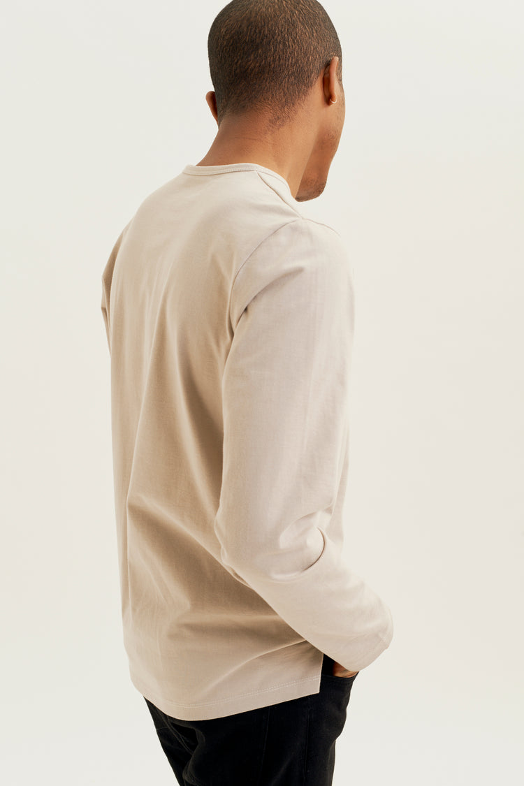 Heavyweight Longsleeve Sand