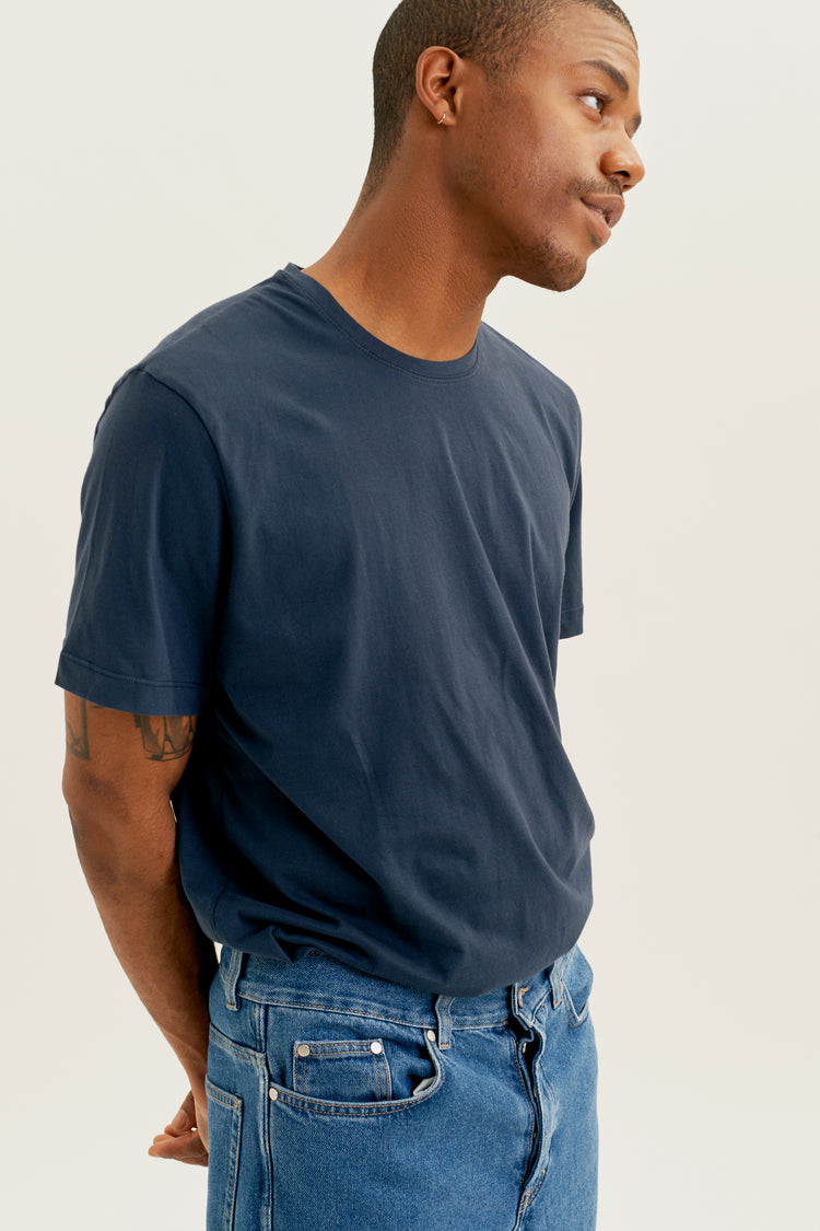 Men's Essential Crew navy