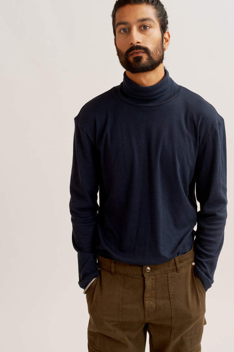 Men's Turtleneck Navy
