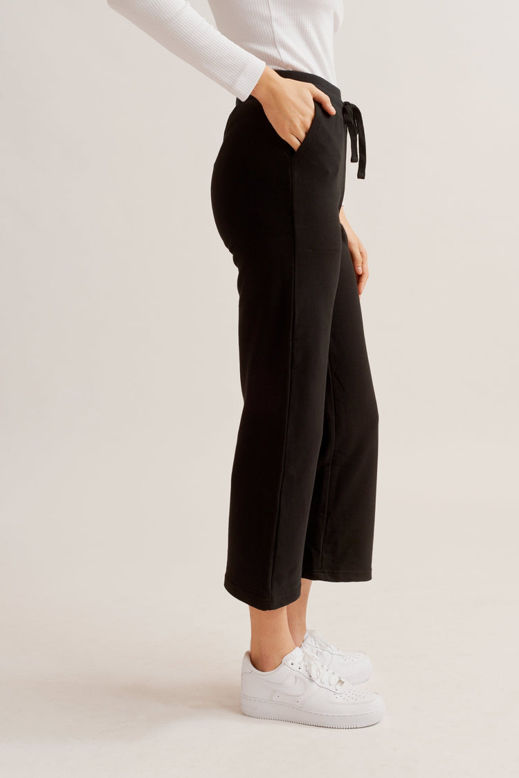 Culotte Sweatpants black