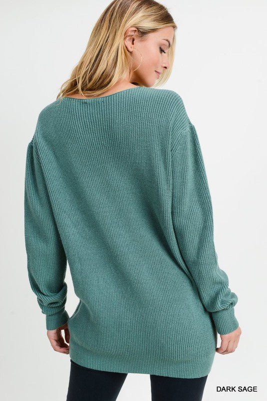 Jodifl Lace Trim Sweater