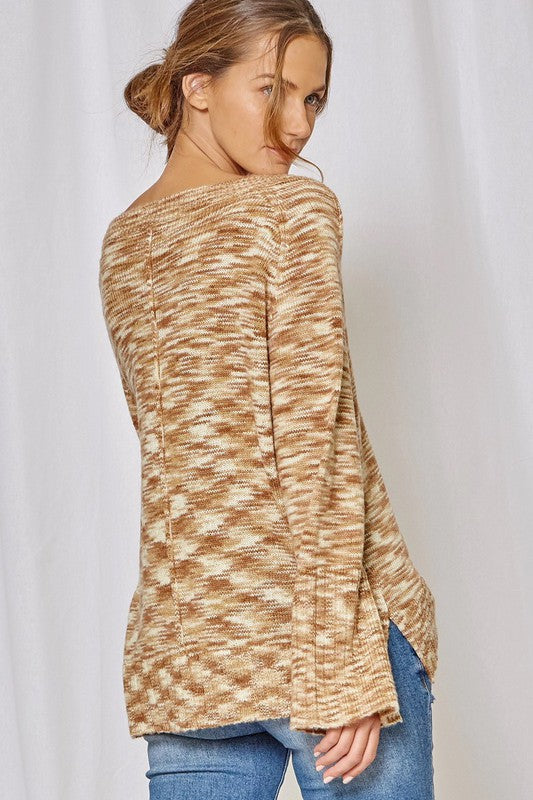 Andree Bell Sleeve Sweater