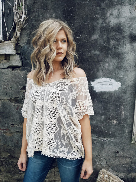 Sheer Love Crochet Top