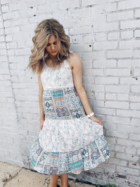 Pretty Patchwork Dress