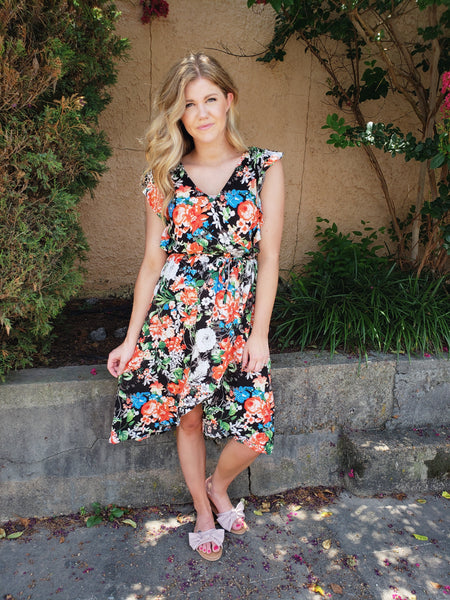 Dreaming in Flowers Dress - Enclothe Boutique