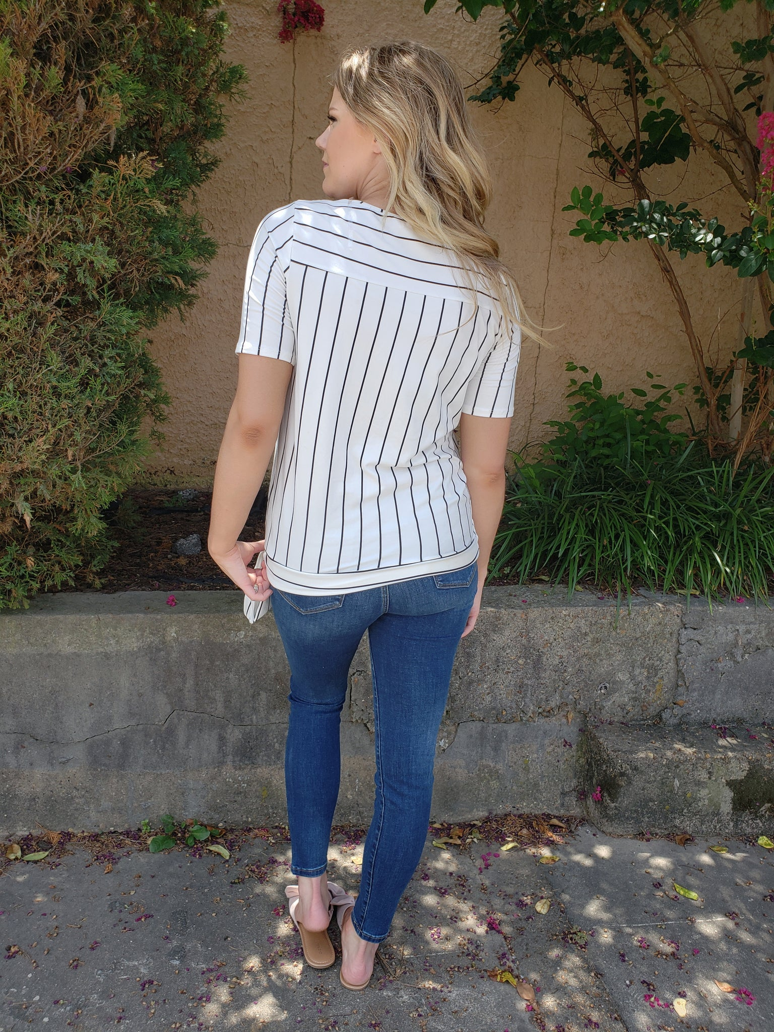 Beauty in Stripes Top - Enclothe Boutique