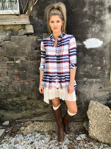 Wear Any Way You Want Plaid - Enclothe Boutique