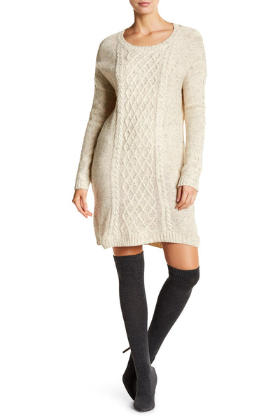 Dex Cable Sweater Dress - Enclothe Boutique