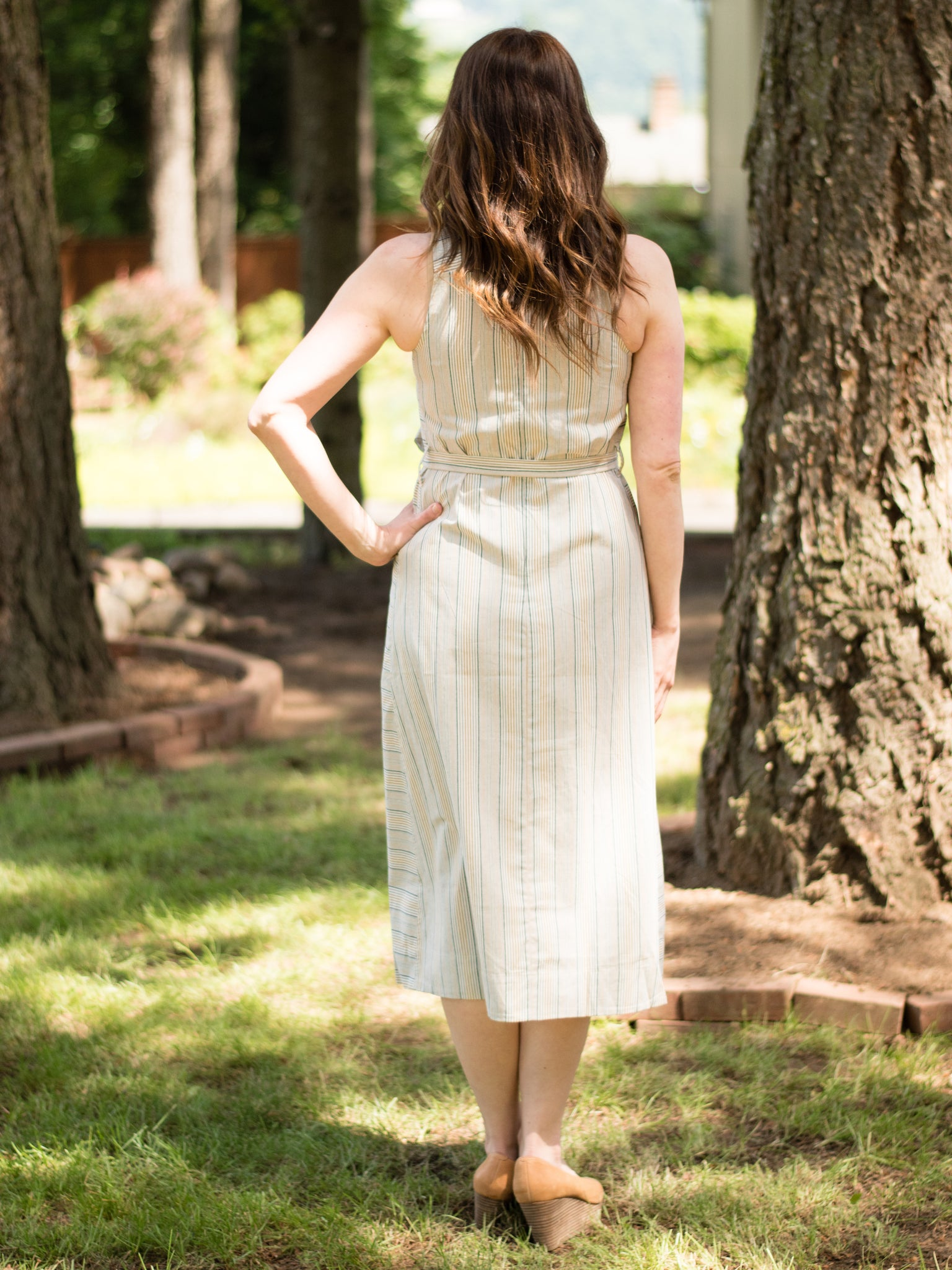 Farmer's Market Midi Dress - Enclothe Boutique