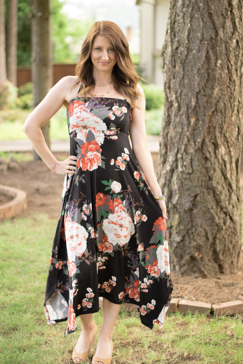 Garden Variety Convertible Dress/Skirt - Enclothe Boutique