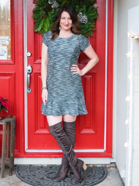 Toast the Town Holiday Dress - Enclothe Boutique