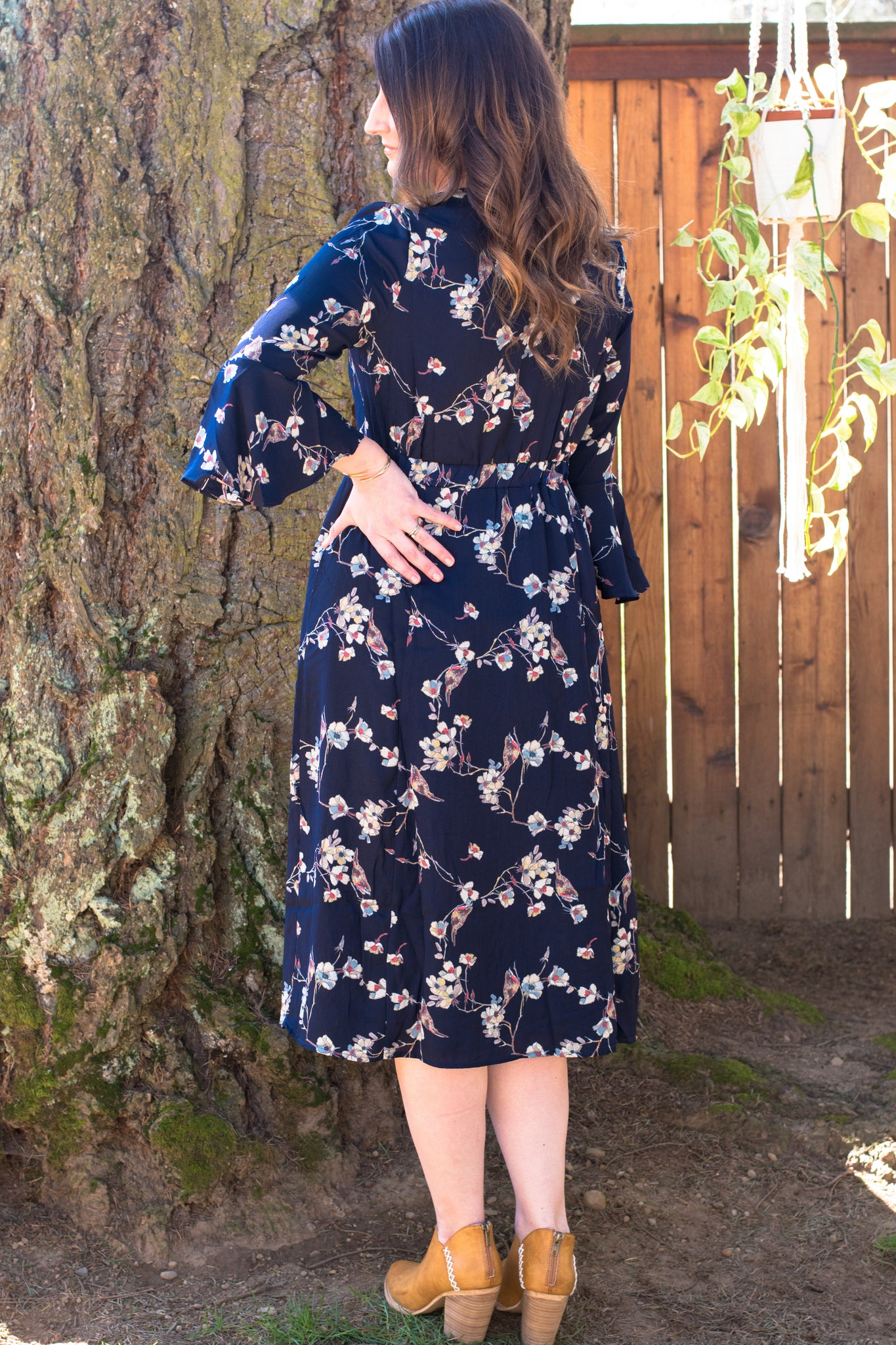 Put a Bird on it Spring Dress - Enclothe Boutique