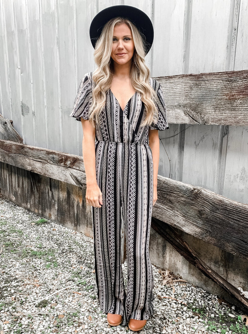 Tribal & True Jumpsuit - Enclothe Boutique