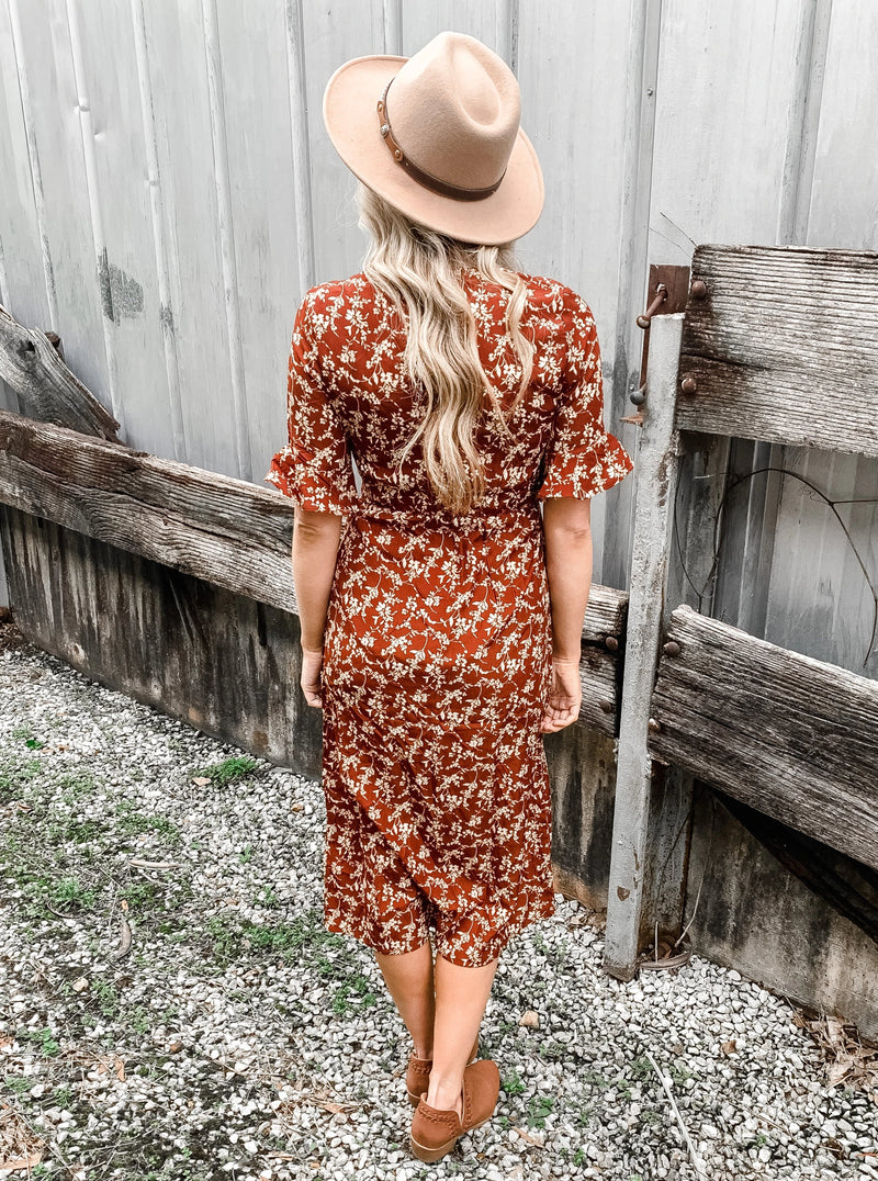 Ready for Spring Floral Dress - Enclothe Boutique