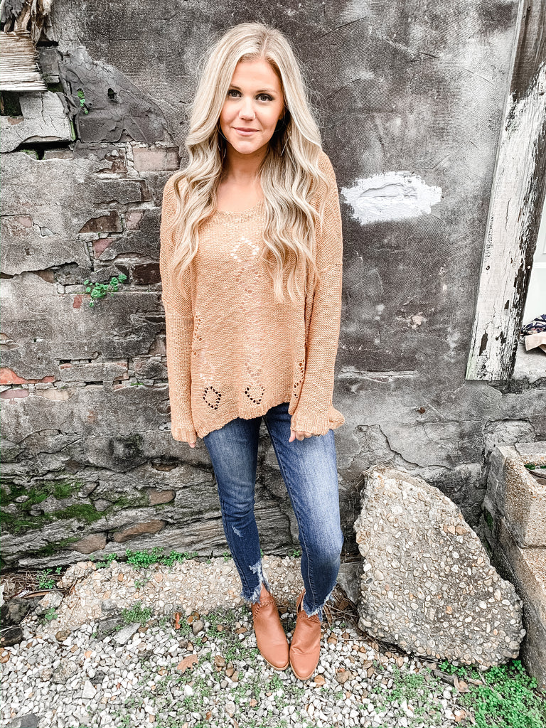 At First Blush Sweater - Enclothe Boutique