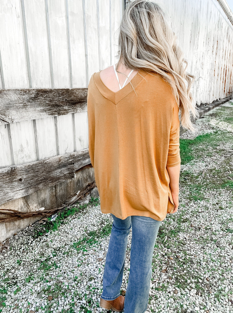 Good as Gold Layering Top - Enclothe Boutique