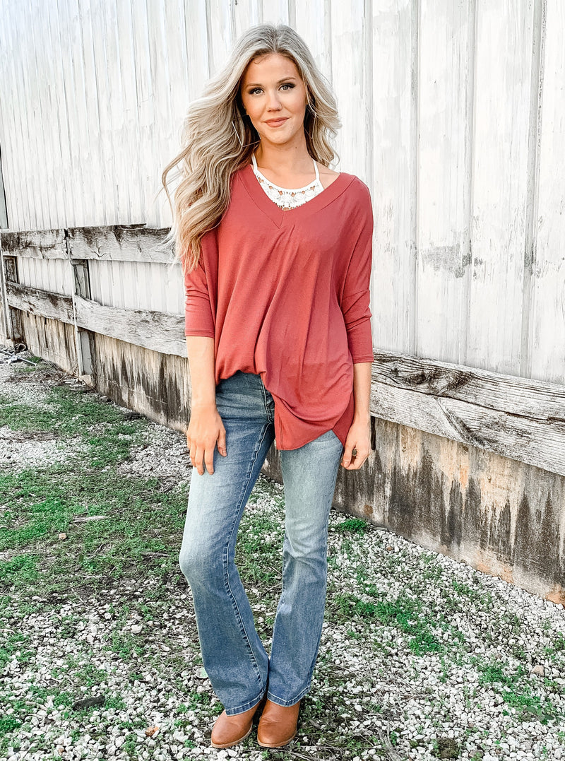 Raspberry Picking Layering Top - Enclothe Boutique