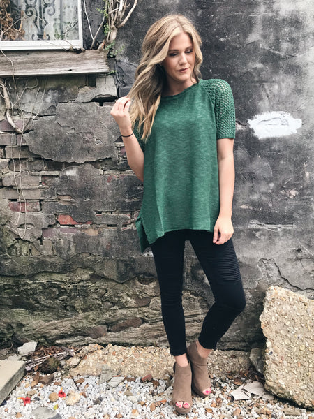 Grass is Always Greener Sweater - Enclothe Boutique
