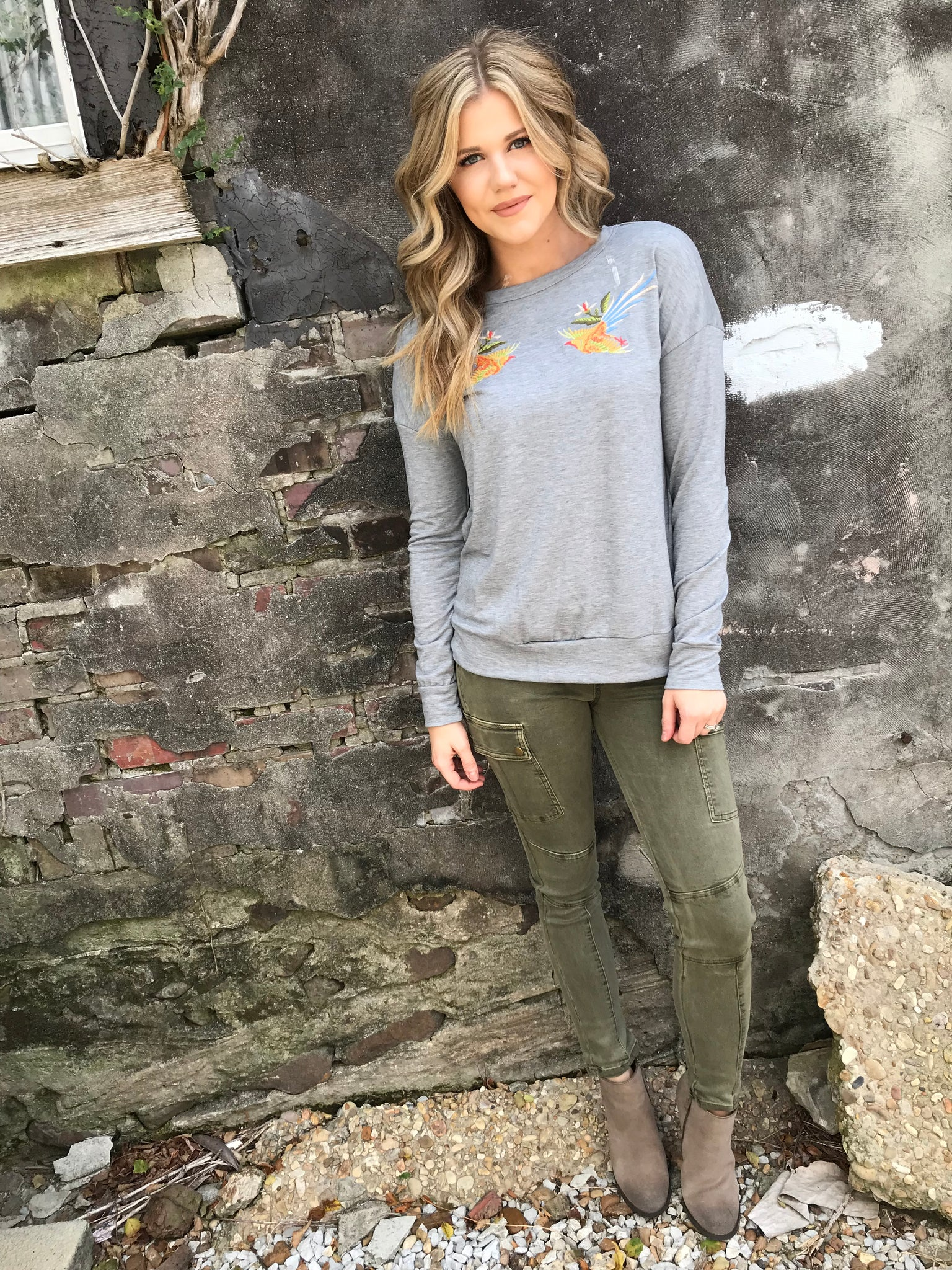 Flycatcher Pullover - Enclothe Boutique