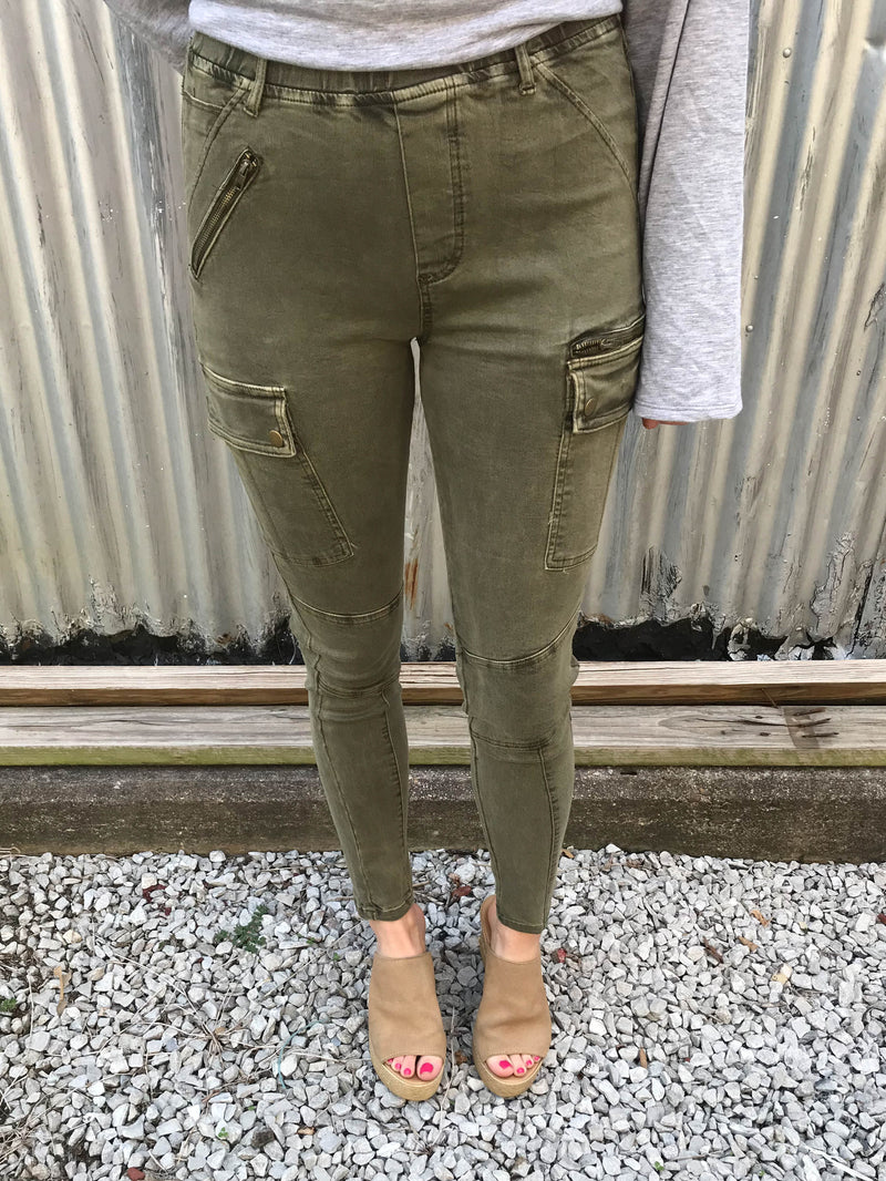 From Soup to Nuts Cargo Pants - Enclothe Boutique