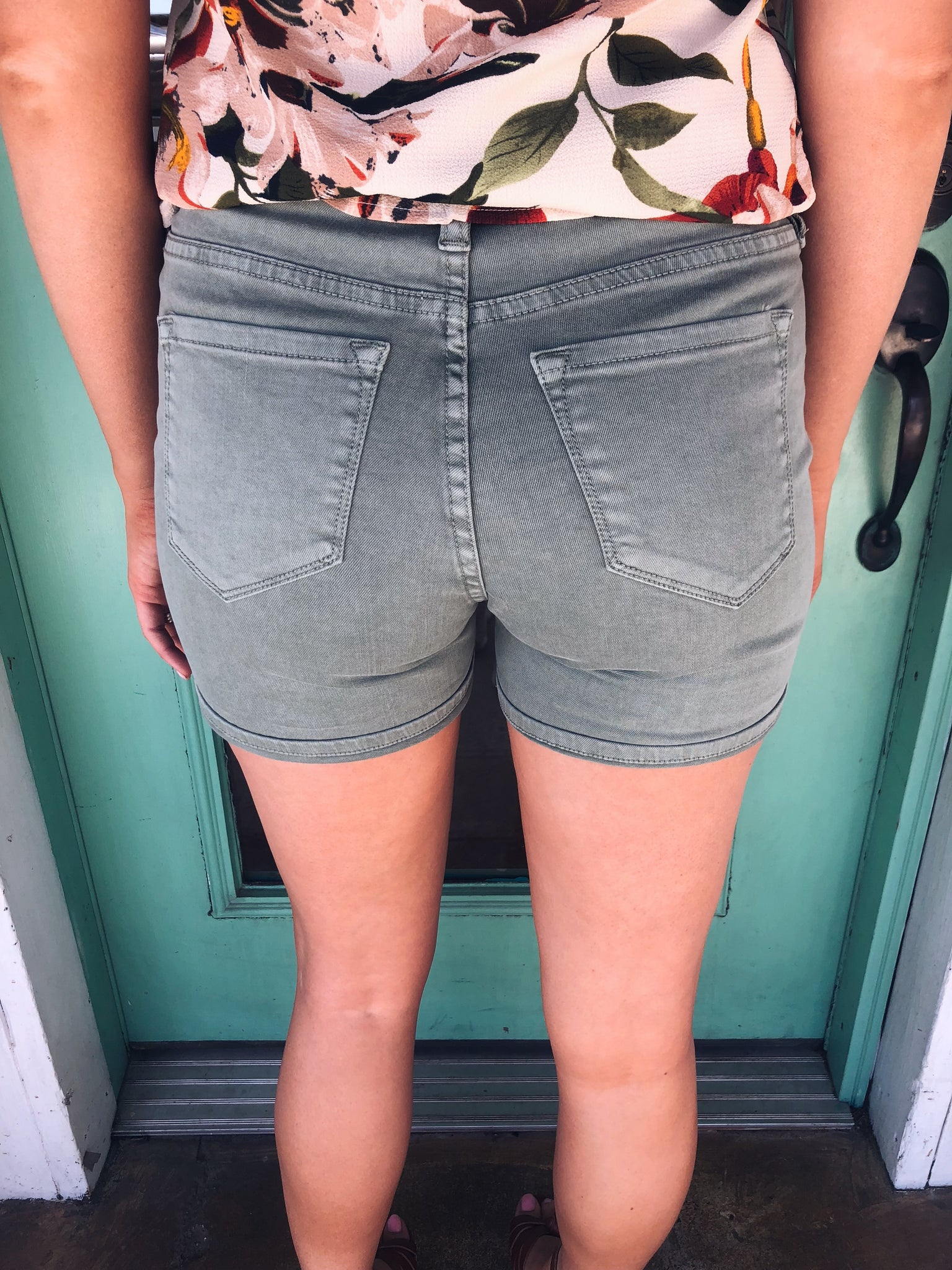 Dear John Ava Shorts in Sweet Pea - Enclothe Boutique