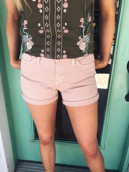 Dear John Ava Shorts in Bittersweet - Enclothe Boutique