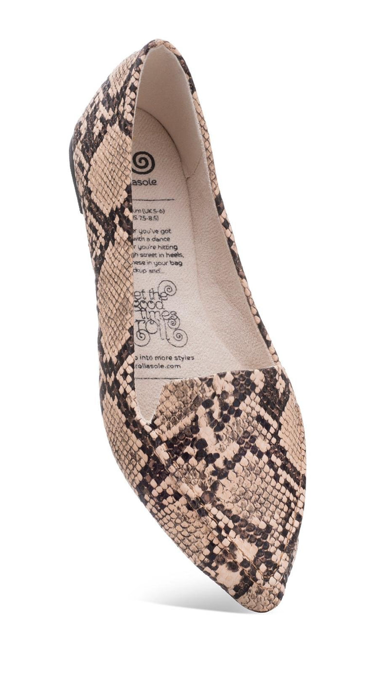 Desert Diamond Foldable Flats