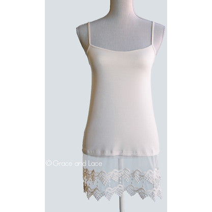 Pointed Lace Top Extender - Enclothe Boutique