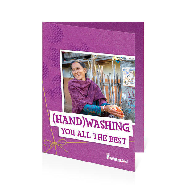 $30 can help build a simple handwashing station