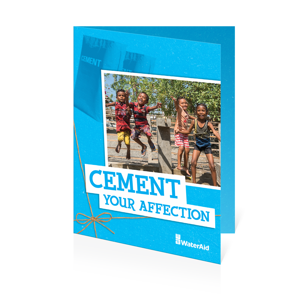 $18 can buy two bags of cement
