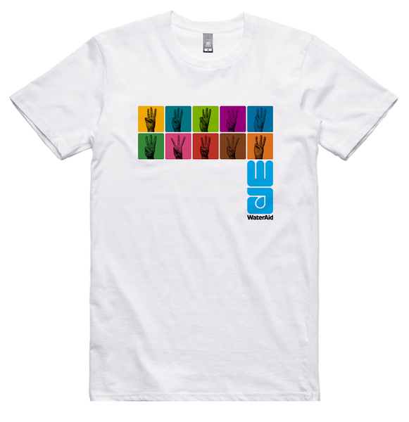 WaterAid 'Hands' T-Shirt