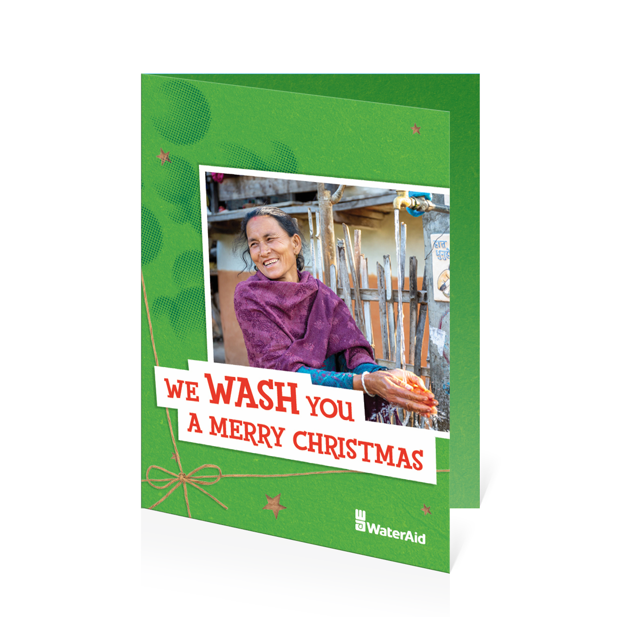 $30 can help build a simple handwashing station (Christmas card)