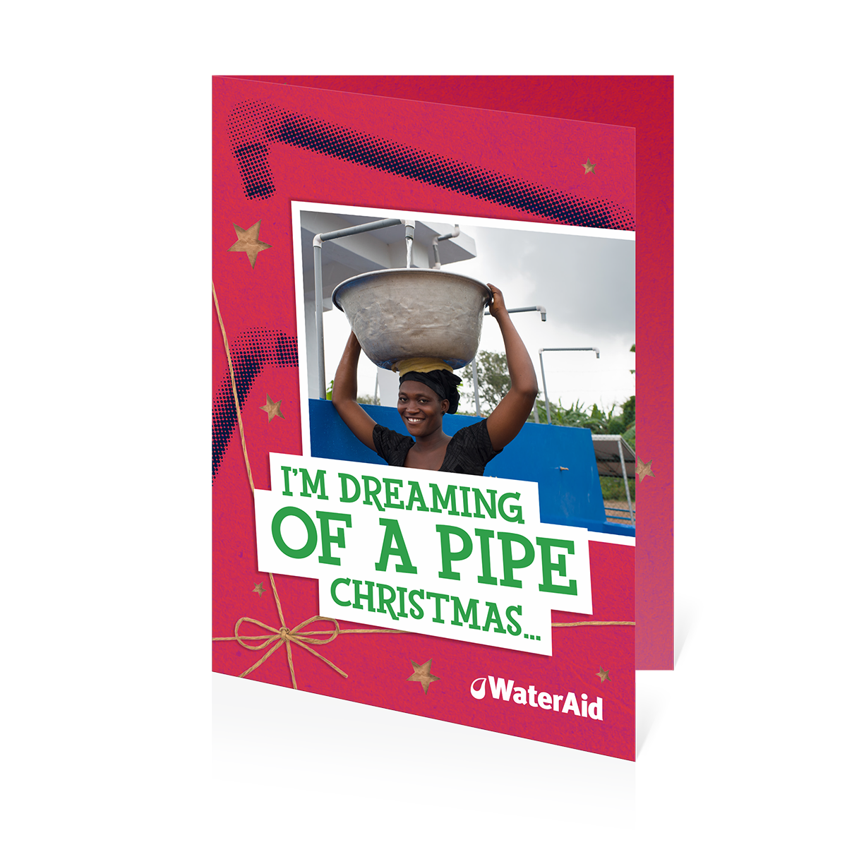 $13 can help pipe water to a village (Christmas card) – WaterAid ...