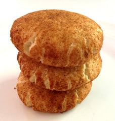 Hannah's Healthy Paleo Snickerdoodle Cookies