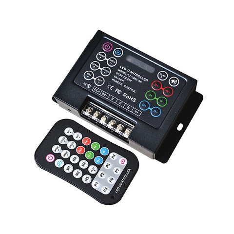 3 x 6A  RGB Controller With Remote