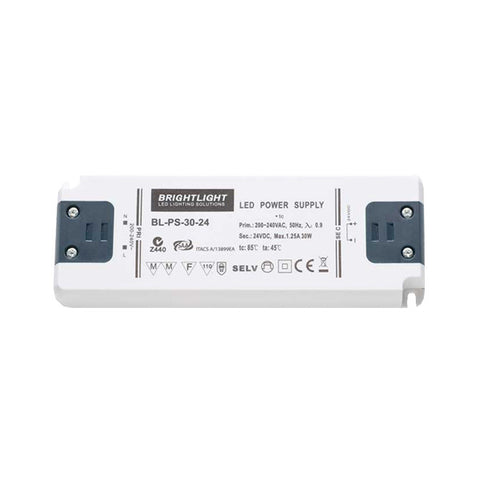 30W 24V IP20 Constant Voltage Power Supply