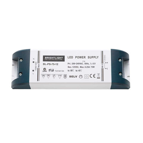 75W 12V IP20 Constant Voltage Power Suppy