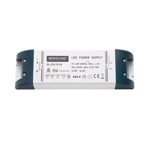 75W 24V IP20 Constant Voltage Power Supply