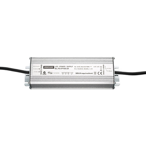 100W 24V IP67 Constant Voltage Power Supply