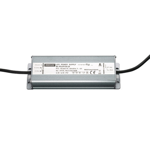 150W 24V IP67 Constant Voltage Power Supply