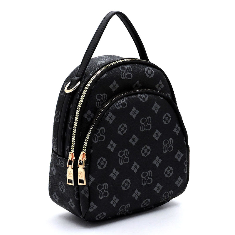 Monogrammed Convertible Backpack