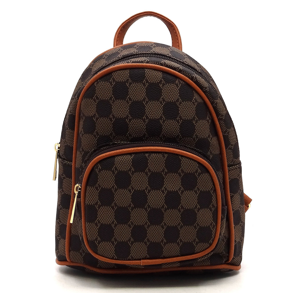 Fashion Monogram Mini Backpack