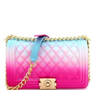 Taste the Rainbow Chain Strap Shoulder Bag