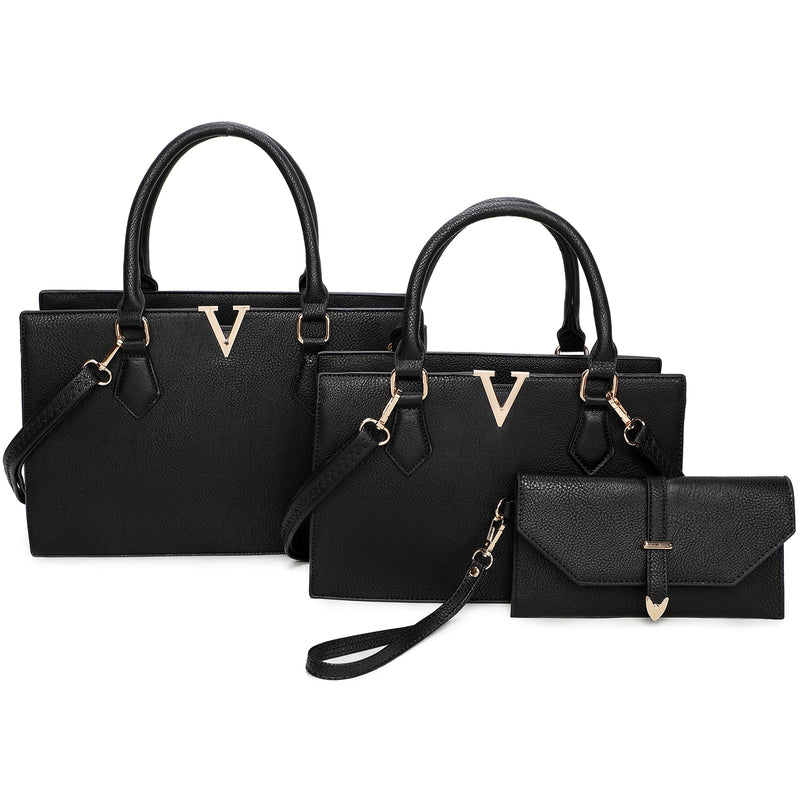 Fashion V Accent 3-in-1 Satchel