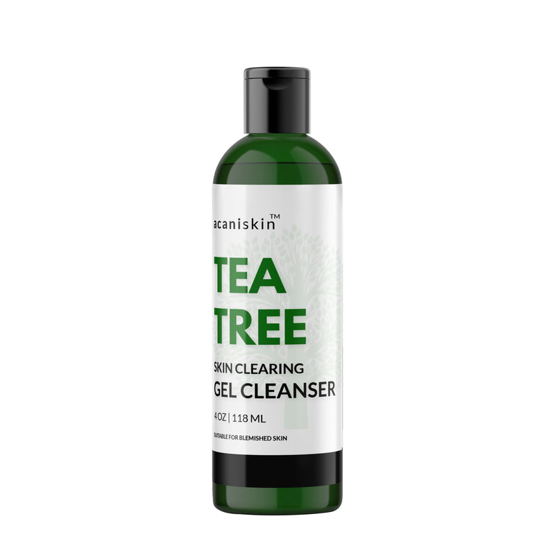 Tea Tree Skin Clearing Gel Cleanser 4oz