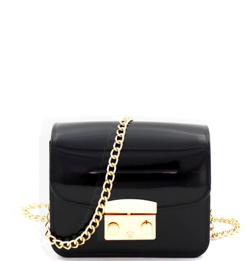 Pinch-lock Accent Jelly Mirco mini crossbody