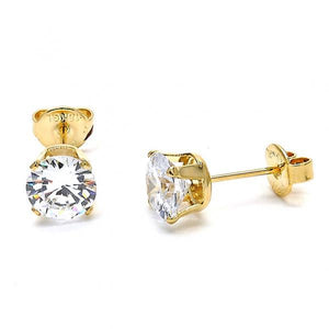 Gold Plated Stud Earring