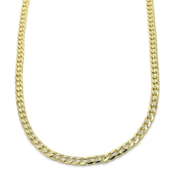 Gold Plated Miami Diamond Cuban Chain